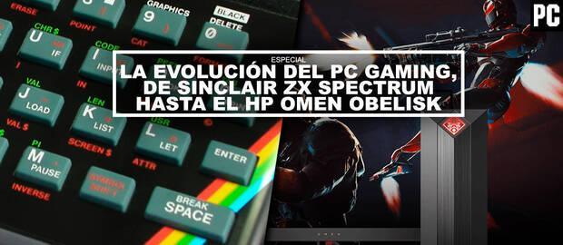 La evolución del PC Gaming, de Sinclair ZX Spectrum hasta el HP OMEN Obelisk