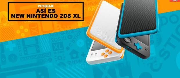 Así es New Nintendo 2DS XL