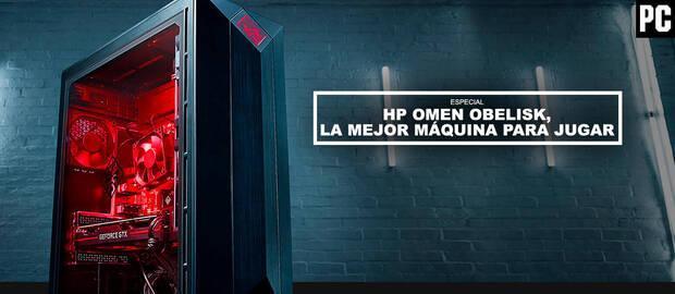HP OMEN Obelisk, la mejor máquina para jugar