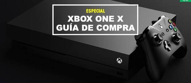 Xbox One X - GUÍA DE COMPRA: Lanzamiento, precio, detalles, juegos...