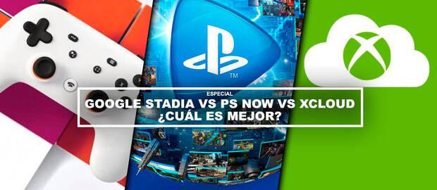 Stadia vs PS Now vs xCloud ¿Cuál es mejor? - TODOS los detalles