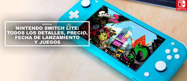 Nintendo Switch Lite: TODOS los detalles, precio, fecha de lanzamiento y juegos
