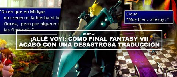 ¡Allé voy!: Cómo Final Fantasy VII acabó con una desastrosa traducción