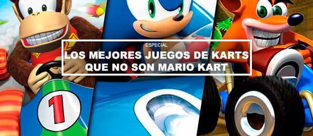 Los mejores juegos de karts que no son Mario Kart