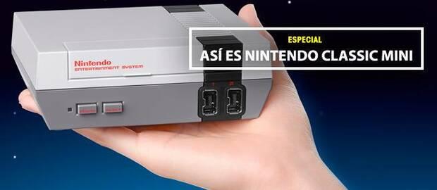 Así es Nintendo Classic Mini