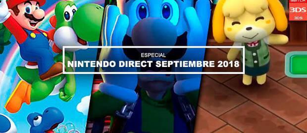 Nintendo Direct septiembre 2018