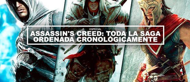 Assassin's Creed: Toda la saga ordenada cronológicamente
