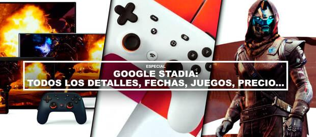 Google Stadia: Precio, fecha de lanzamiento, juegos y características