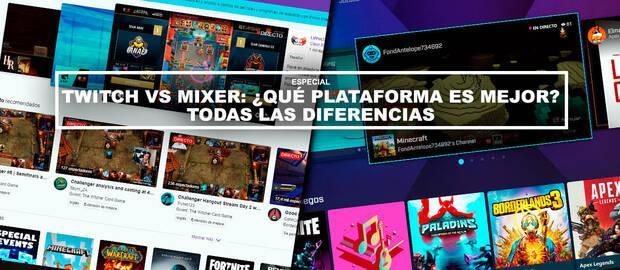 Twitch vs Mixer: ¿Qué plataforma es mejor? - TODAS las diferencias
