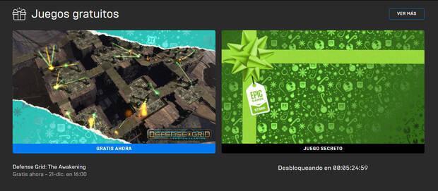 Juegos gratuitos de Epic Games Store