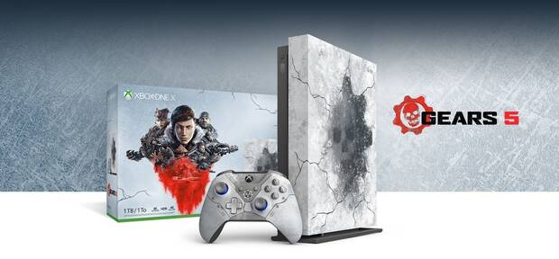 Gears 5: Así es la nueva edición limitada de Xbox One X Imagen 2