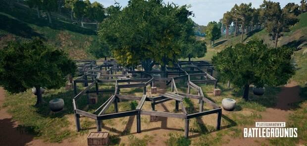 La zona azul de Savage en PUBG se adaptará según los jugadores que queden Imagen 3