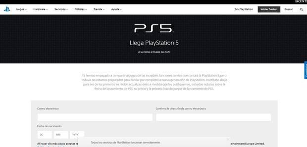 PlayStation 5 estrena web oficial e indica que la presentación final tendrá que esperar Imagen 2