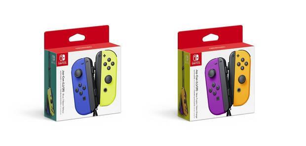 Nintendo presenta dos nuevos y coloridos packs de Joy-Con para Switch Imagen 2