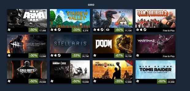 Desvelados los 100 juegos más exitosos de Steam durante 2016 Imagen 3