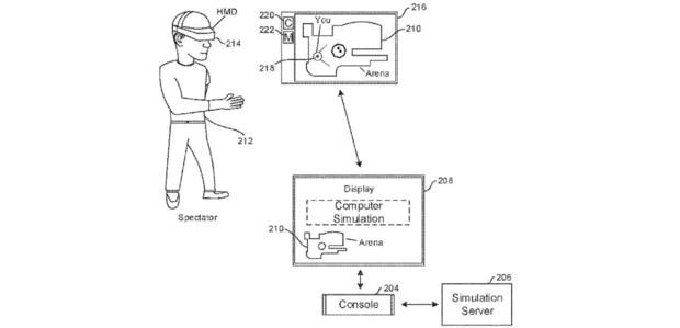 Sony patent with eSport tournaments in VR.