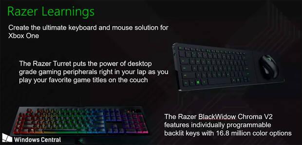La compatibilidad con ratón y teclado en Xbox One llegaría a finales de año Imagen 2