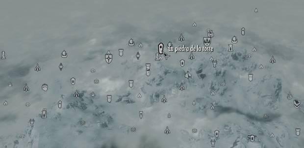 LA piedra de la torre Skyrim