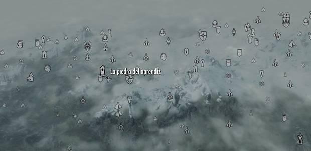 La piedra del aprendiz Skyrim
