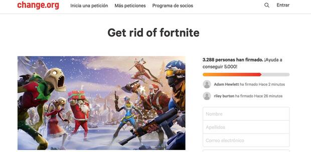Miles de novias y madres firman petición de broma para prohibir Fortnite Imagen 2
