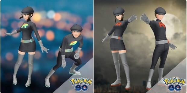 Pokémon GO recibe atuendos y accesorios basados en el Team Rocket Imagen 2