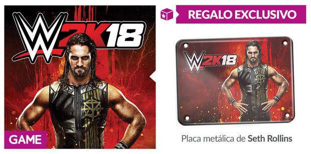 GAME detalla sus incentivos por reserva para WWE 2K18 Imagen 2