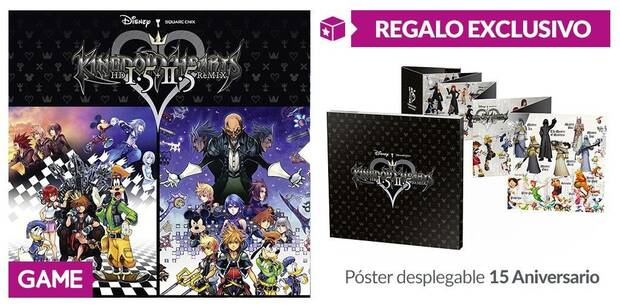GAME detalla sus incentivos para Kingdom Hearts HD 1.5 + 2.5 Remix Imagen 2