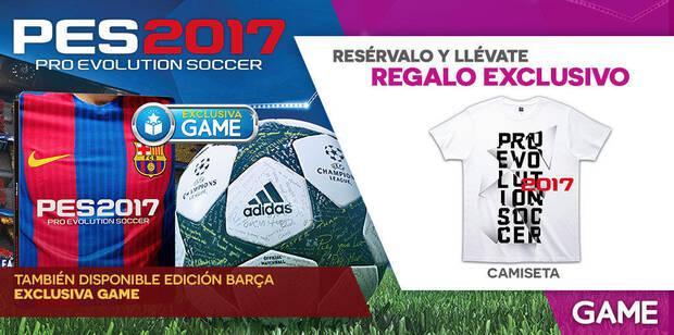GAME detalle su campaña de reservas e incentivos para PES 2017 Imagen 2