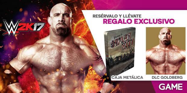 GAME detalla sus incentivos por reserva para WWE 2K17 Imagen 2