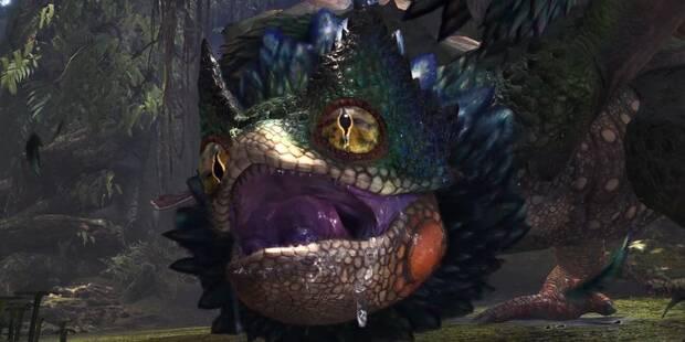 Pukei-Pukei en Monster Hunter World - Localización, drops y consejos