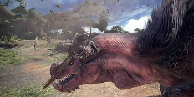 Cómo saltar y agarrar a los monstruos en Monster Hunter World