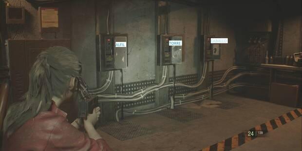 Resident Evil 2 Remake: SOLUCIÓN al puzzle del Ajedrez (A y B)