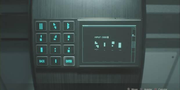 SOLUCIÓN de los códigos del laboratorio en Resident Evil 2 Remake