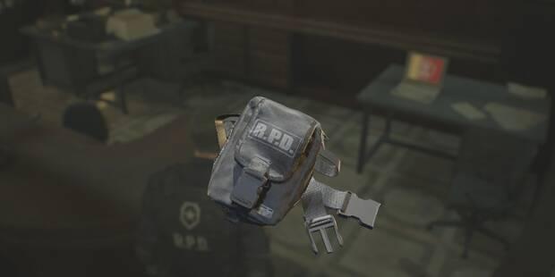 Cómo y dónde conseguir todas las riñoneras en Resident Evil 2 Remake