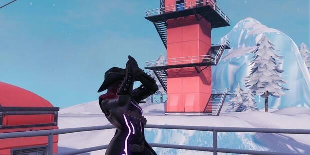 Desafío Fortnite: Baila en la cima de varias torres - SOLUCIÓN
