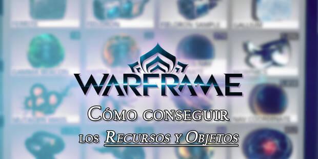 Warframe: ¿Cómo se consiguen los Recursos y Objetos y para qué sirven?