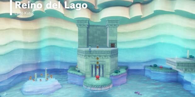 Reino del Lago en Super Mario Odyssey: Energilunas y secretos