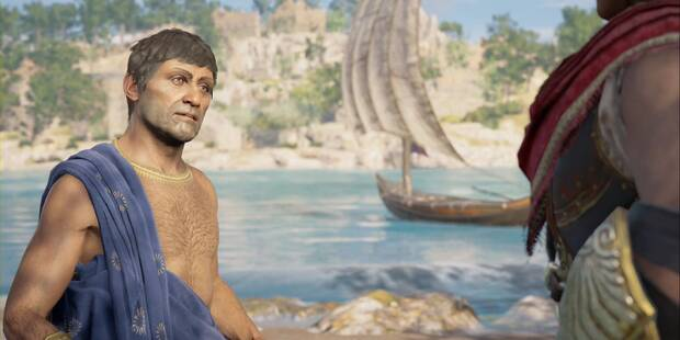 El sudario de Penélope en Assassin's Creed Odyssey - Misión principal