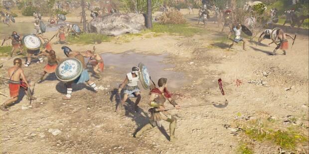El último empujón en Assassin's Creed Odyssey - Misión principal