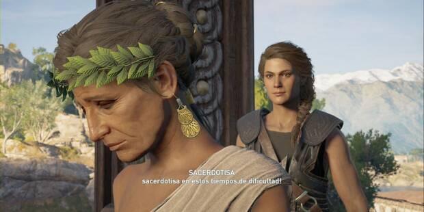 Tras los pasos de los dioses en Assassin's Creed Odyssey - Misión secundaria