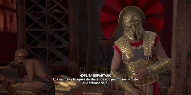 El mapa desaparecido en Assassin's Creed Odyssey - Misión secundaria