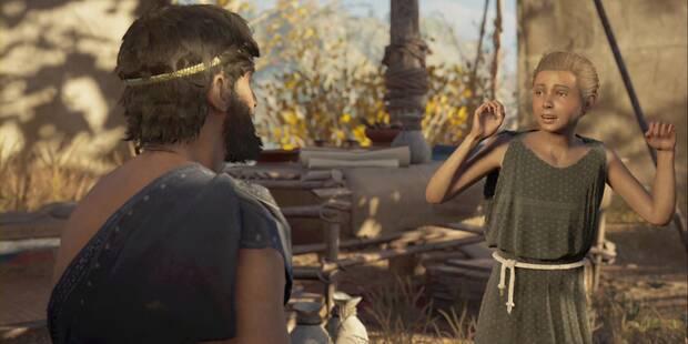 Ayuda para un sanador en Assassin's Creed Odyssey - Misión secundaria