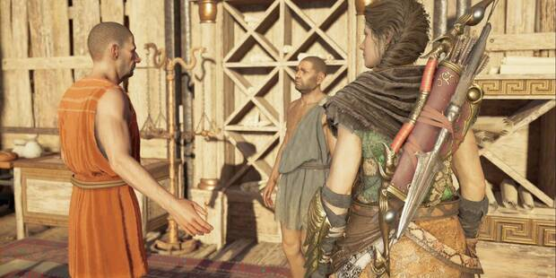 Muerte e impuestos en Assassin's Creed Odyssey - Misión secundaria