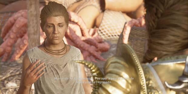 Pesca sin muerte en Assassin's Creed Odyssey - Misión secundaria