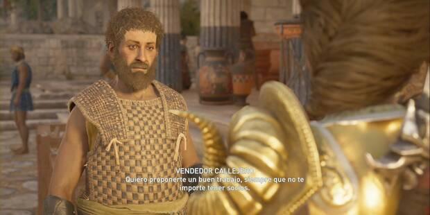 La llamada de lo salvaje en Assassin's Creed Odyssey - Misión secundaria