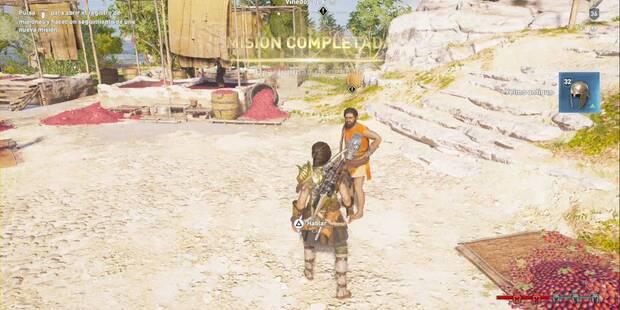 Oportunidad de negocio en Assassin's Creed Odyssey - Misión secundaria