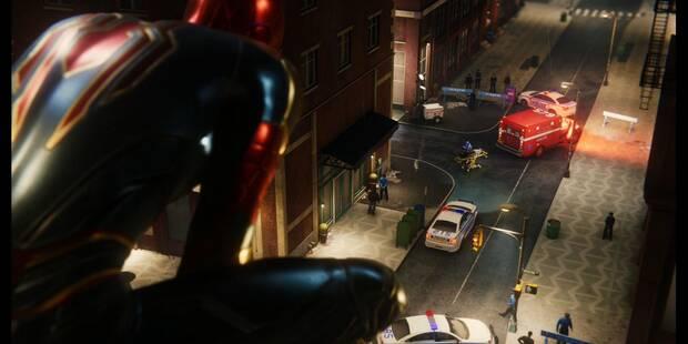 El rastro de Black Cat en Spider-Man (PS4) - El Atraco (DLC)