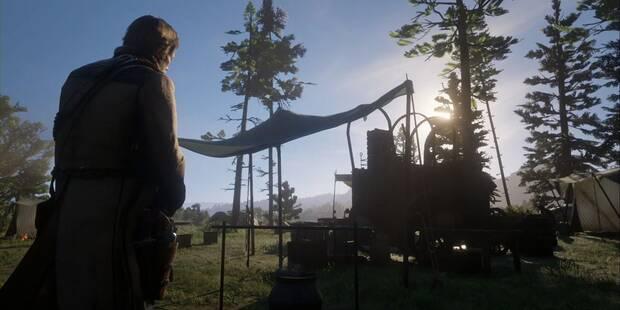 Sale, perseguido por un orgullo herido en Red Dead Redemption 2 - Misión principal