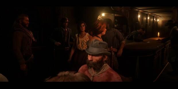 Americanos descansando en Red Dead Redemption 2 - Misión principal