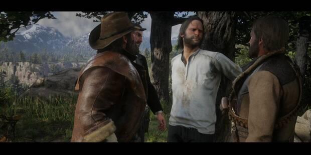 Una visita de compromiso en Red Dead Redemption 2 - Misión principal
